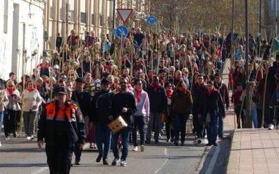 Més de 600 persones desfilen en la Romeria