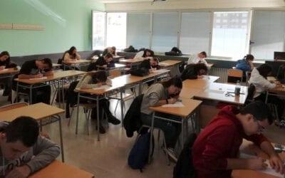 76 alumnes de l'IES Albal es preparen per a la PAU