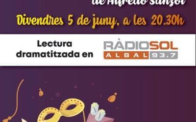 L'Escola de Teatre protagonista en Ràdio Sol