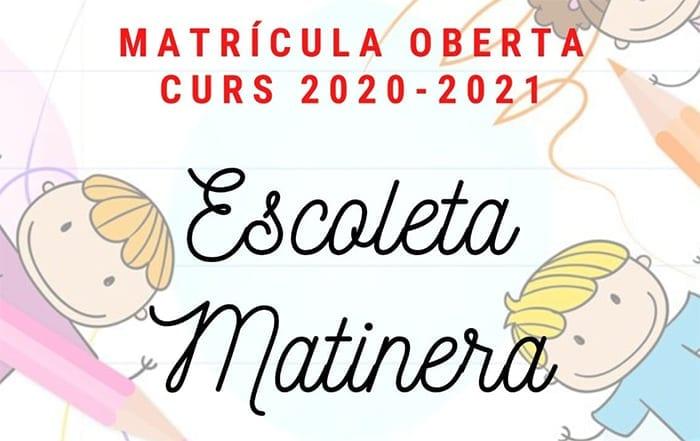 Escola Matinera Albal 2020-2021