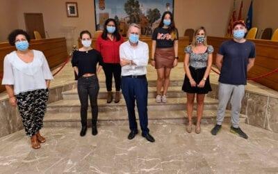 Albal diu adeu als set joves que han treballat a l'Ajuntament gràcies al Pla d'ocupació de la Generalitat