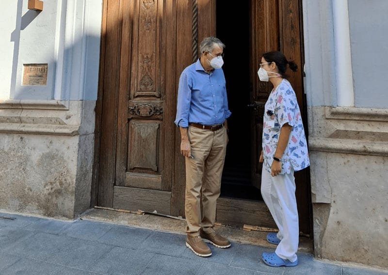 Albal cedeix l'antic Ajuntament al Centre de Salut per a la vacunació de la grip