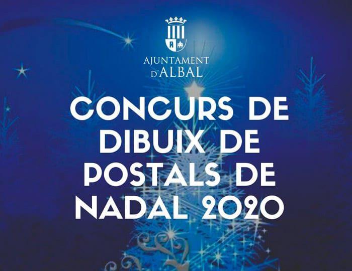 Concurs de dibuix de postals de Nadal 2020