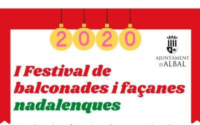 Albal organitza el I Festival de balconades i façanes nadalenques