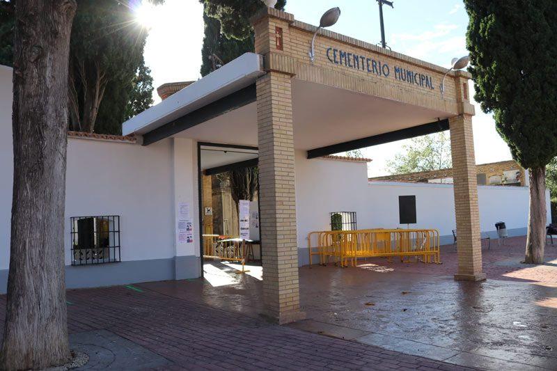 El Cementeri Municipal obri les seues portes amb el descens de contagis