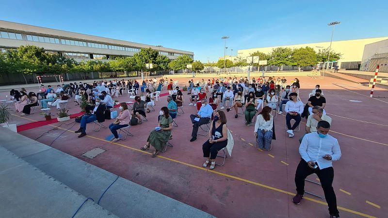 Es graduen 102 estudiants de l'institut d'Albal i diuen adeu al curs marcat per la pandèmia