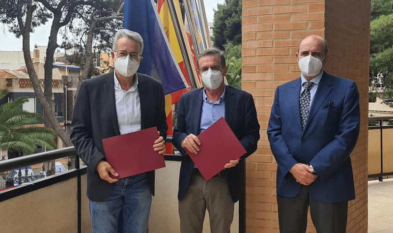 Albal firma un convenio con el Colegio Notarial