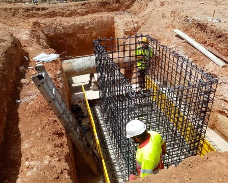 L'EMSHI instal·la a Albal una presa d'emergència d'aigua per a duplicar les garanties de proveïment en la localitat