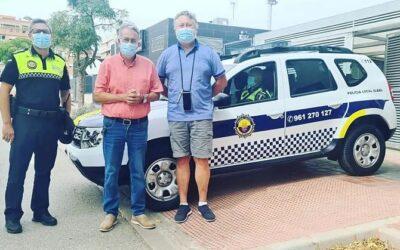La Policia Local suma un nou vehicle a la seua flota de servei