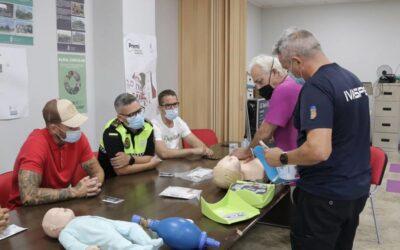 La Policia Local assisteix al curs d'actuació primerenca, davant problemes cardiovasculars