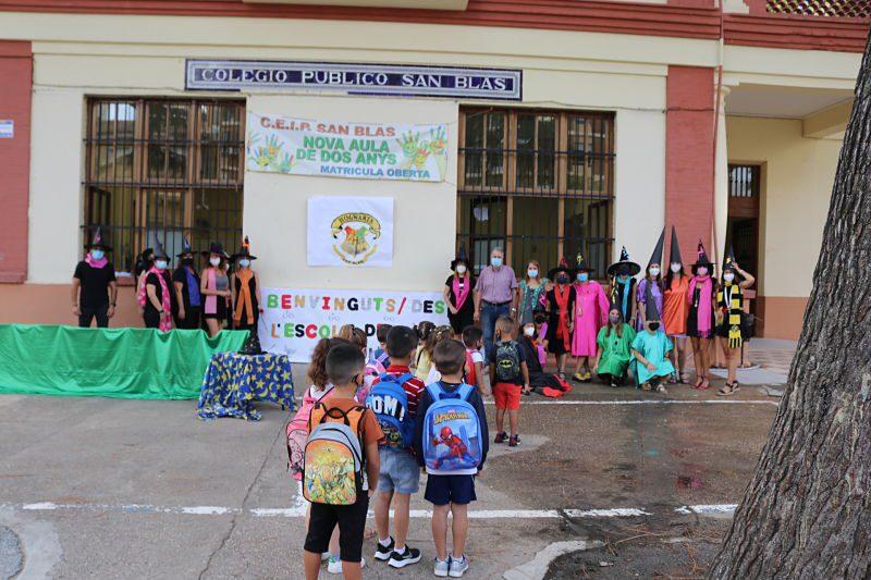 Comença el curs per a 2.744 alumnes del municipi