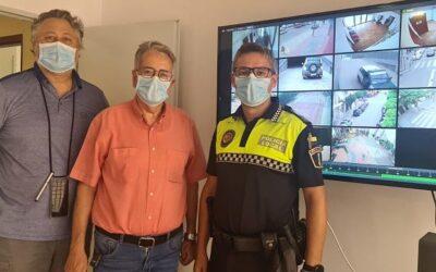 Albal instal·la 59 càmeres de vídeo vigilància la central de la qual ja està operativa en les dependències de la Policia Local